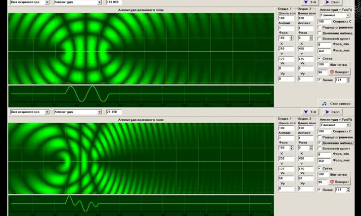 Программное обеспечение для исследований в акустике, электродинамике, квантовой механике